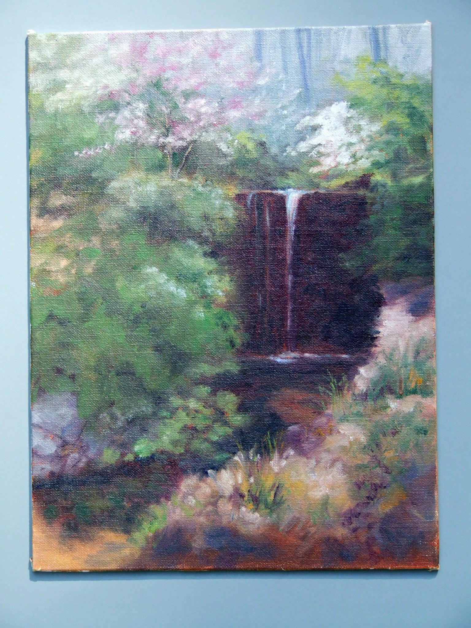 garden-waterfall